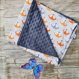 handmade Bedding - Double Minky Toddler/ Baby Soft & Minky Blanket